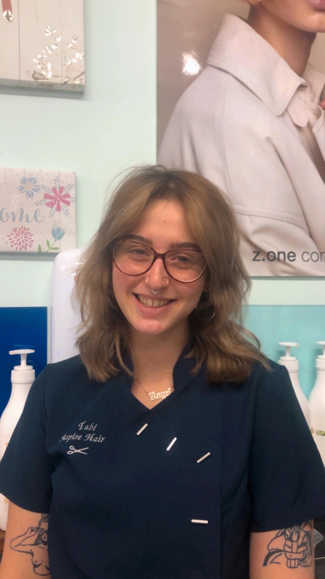 Tabi - aspire hair salon staff